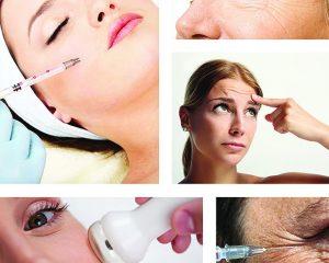 Odos kosmetinių trūkumų korekcija